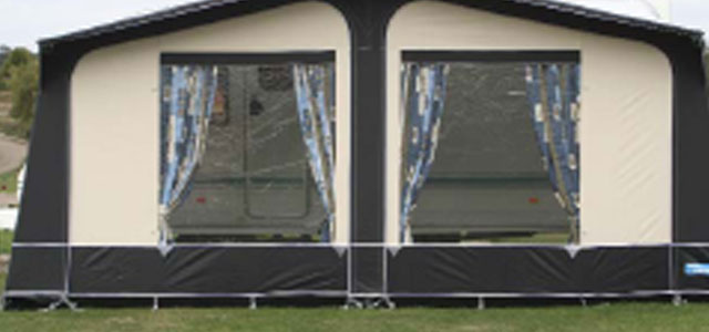 Kampa caravan awnings for sale at Chichester Caravans